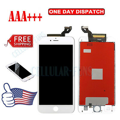 "For White iPhone 6S Plus 5.5"" Replacement Screen LCD Display Touch Full Assembly"