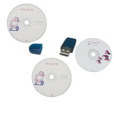 TIS2000 Software CD and USB dongle USB KEY tis2000 software for GM Tech2 Cars