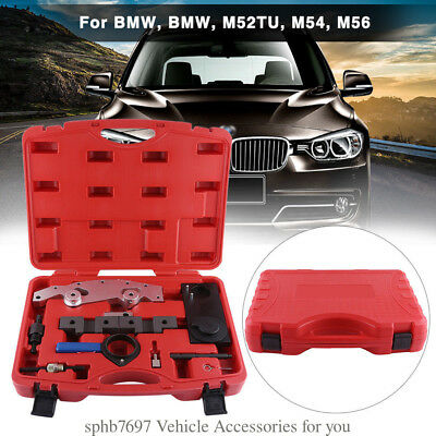 9Pcs Master Camshaft Alignment Jig Lock Timing Tool Sets For BMW Double Vanos