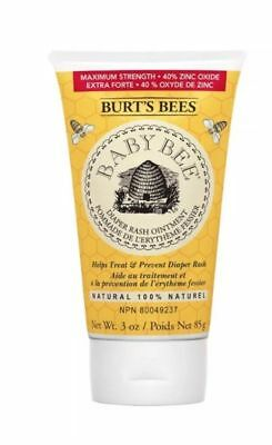 Burt's Bees baby diaper rash ointment 3 Oz Natural 100%