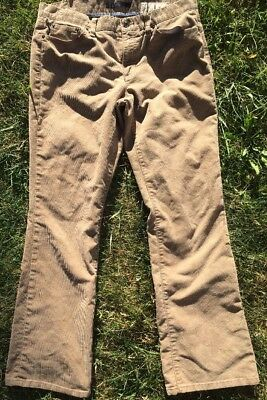 Gap 1969 Limited Edition Stretch Tan Corduroy Womens Size 12R