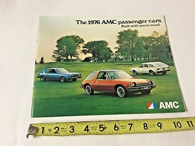 1976 AMC Brochure Catalog W/ Accessories Specifications Options Gremlin Hornet