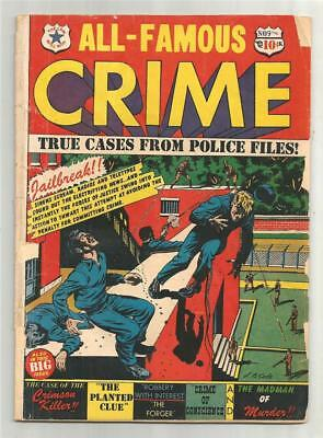 All Famous Crime #9, Aug. 1951