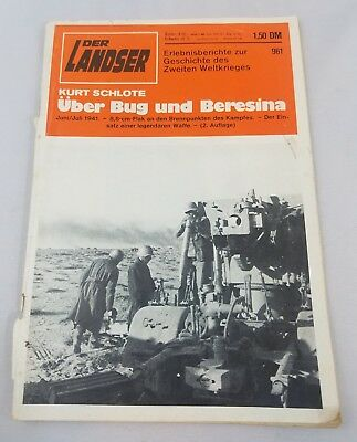 WW2 WWII German Magazine,Der Landser,1941,Wehrmacht,War,Original,Soldier,Book