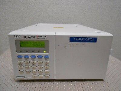 Shimadzu SPD-10AV VP HPLC System UV VIS Detector Tested Nice, Agilent Waters HP