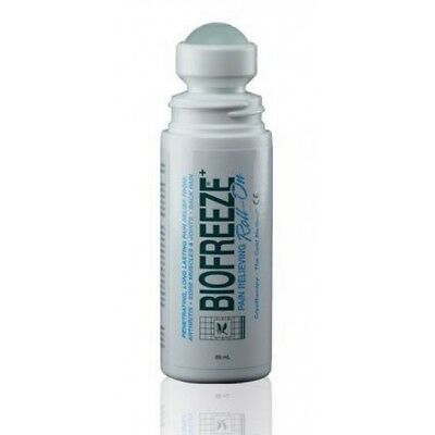 BIOFREEZE Pain Relief Gel 3 oz Roll on 3.5 Menthol PACK OF 4 (EXP 6-2021)