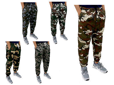 Camouflage Pant Cargo Camo Military Army Casual Mens Jogger Cotton Sweatpants