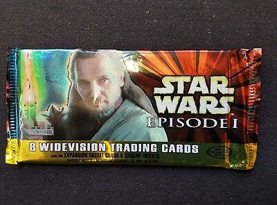 Star Wars Episode 1 Widevision Trading Card's BRAND NEW SEALED