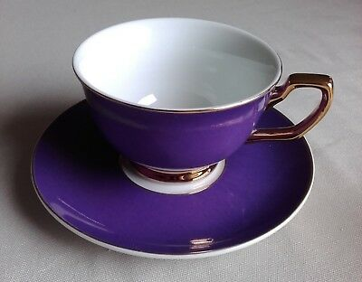 Cristina Re 'High Tea Collection' porcelain cup and saucer with gilding