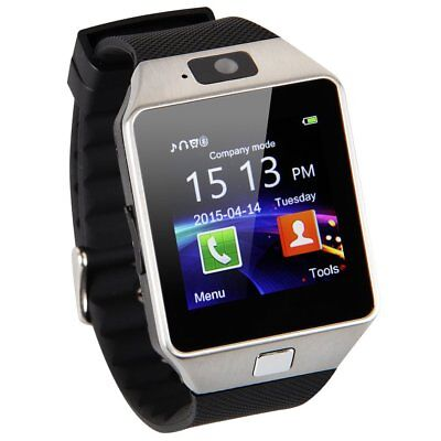 DZ09 Bluetooth Montre Téléphone Intelligent Smart Watch ios & Android Argent New