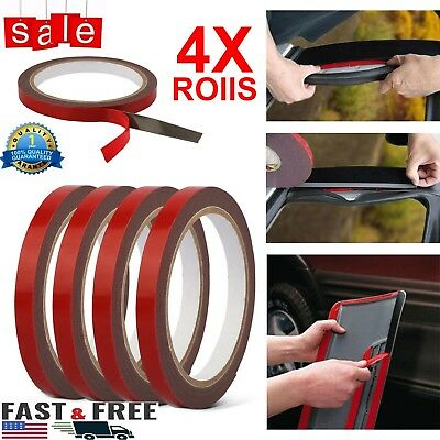 🔥4 Roll length-3m Double-side Acrylic Foam Adhesive Glue Tape Roll For Car Auto