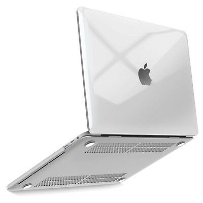 """2018 Macbook Pro 13""""/15"""" Case Ultra-Crystal Clear Transparent Hard Plastic Cover"""