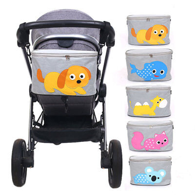 1PC Baby Pram Pushchair Multi-functional Stroller Organizer Hanging Bag With Cup