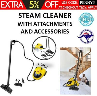 Carpet Steam Cleaner High Pressure Multi Purpose Floor Tile Steamer Cleaning