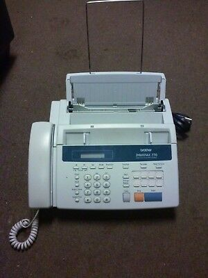 Brother IntelliFAX 770 Plain Paper Fax Machine/Monochrome Copier home or office