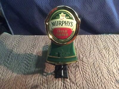 Murphy's Irish Amber Draught Tower/Engine with beer line & Drip Tray