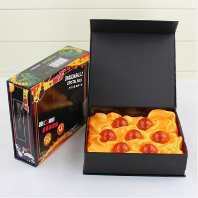 1set 7 Stars Crystal Balls 3.5CM Dragon Ball Z Set New Box Complete Blue