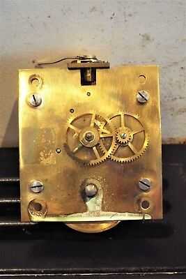 Lantern Time piece mechanical 8 day movement spares or repairs
