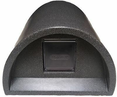 Free Postage Inc £54.99  Outdoor Cat Kennel Plastic Cat House + Flap