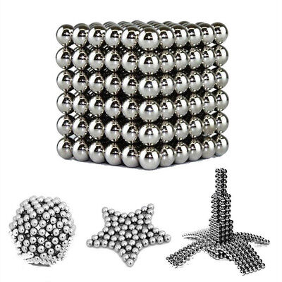 216Pcs 3mm Magnet Balls Magic Beads Sphere Magnetic 3D Puzzle Cube Ball For Kids