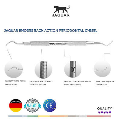 Jaguar Rhodes Back Action Periodontal Chisel German Steel CE Hu-friedy price £59