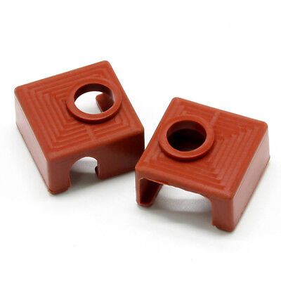 2 PACK for 3D Printer Heater Block Silicone Cover MK7/MK8/MK9 Silicone Socks NY