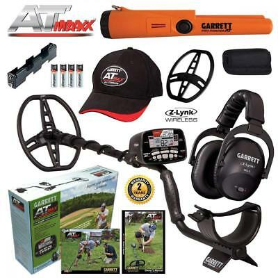 Garrett AT MAX Metal Detector, MS-3 Headphones and Pro-Pointer Pinpointer