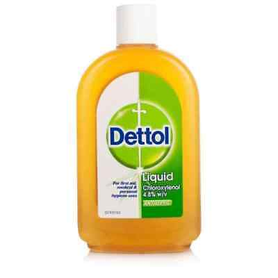 Dettol liquid Antiseptic first Aid Dettol 210ml + Free  Shipping