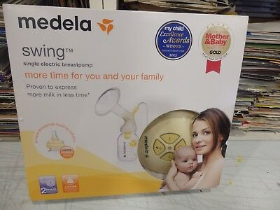 NEW MEDELA SWING 2 Phase - Single Breastpump with Free calma included -