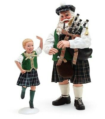 Clothtique Possible Dreams 'Country Dance' Celtic Santa 6000724 Department 56