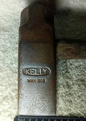 Vintage Tool Axe Kelly Wax 03 Block Splitter Australian Made Quality Collectible