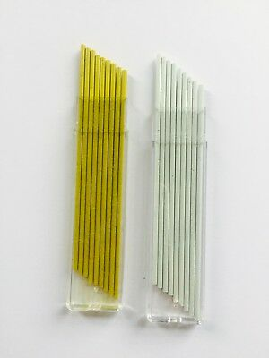 2mm YELLOW / WHITE REFILLS for 2mm Builders Pencils TOTAL 54 Leads