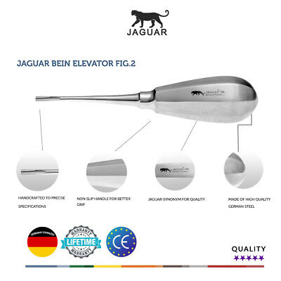 Jaguar Bein Fig.2 Surgical Elevator Germany Stainless CE Competitor price £25