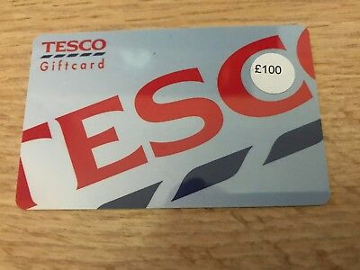 Tesco Giftcard £100 new no expiry sent next day trusted seller