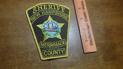 Merrimack County New Hampshire Sheriff   Obsolete   Patch Bx 2 #10