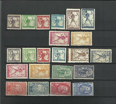 Yugoslavia SHS Slovenia Chain- Breakers MNH Lithography and Typography