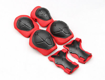 Kids Elbow & Knee Pads Wrist Brace Guards Sports Safety Protective Gear 6 pieces