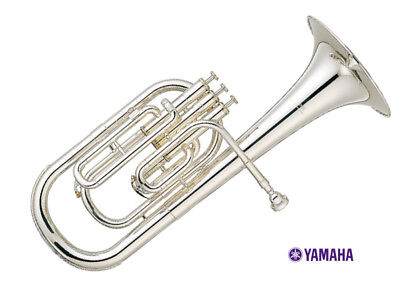 Alto Horns Shop For Cheap Yamaha Alto Horn Eb 3 Piston Top Action Yah-203s Silver-plated Brand New