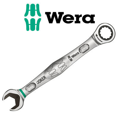 WERA 13mm JOKER Combination Combi Open End Ratchet Ring Spanner Wrench, 073273
