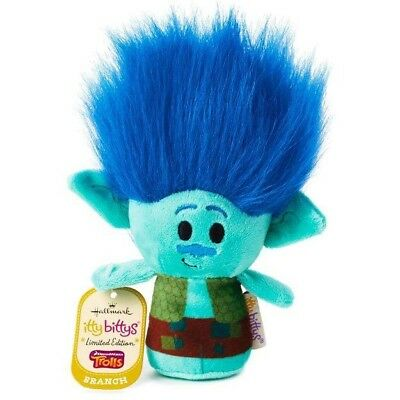 Hallmark Itty Bitty Bittys BRANCH Dreamworks Trolls Limited Edition New With Tag