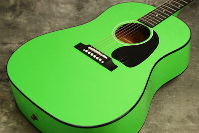 Gibson J-45 Neon Green Acoustic guitar with HardCase OUTLET