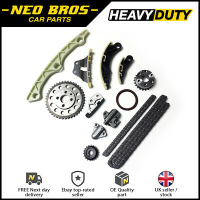 Timing Chain & Oil Pump Chain Kit for Mazda 3 6 CX-7 2.2 Diesel R2AA R2BF