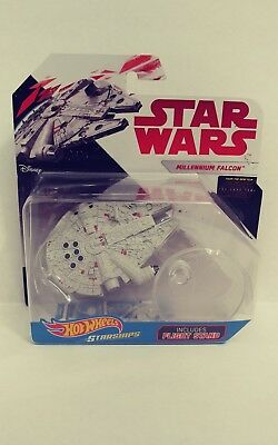 Hot Wheels Star Wars Starships The Last Jedi Millennium Falcon