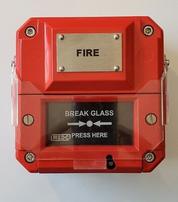 Manual Fire Alarm EATON MEDC NG17 5FB  Type  BG21  BRAND NEW  fits offshore too