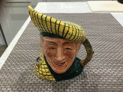 Crown Clarence Toby Jug