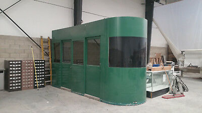 Security Guard Shack / Portable Office with Air Conditioning and lighting