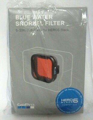 Genuine GoPro Blue Water Snorkel Filter for HERO5 and HERO6 - AACDR-001