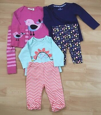 baby girl clothes bundle 3-6 months Jojo Maman Bebe TU