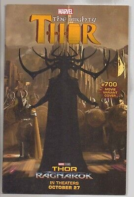 Marvel Comics The Mighty Thor Blood Of The Norns #700 Movie Variant Cover