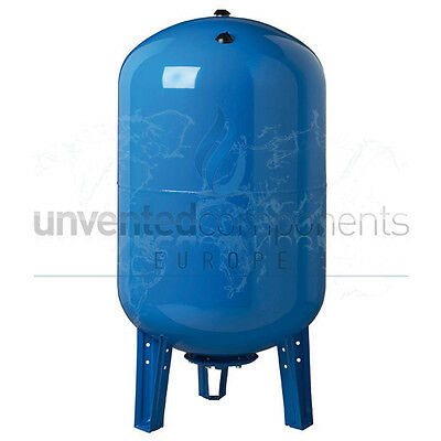 "200 Litre Replaceable Membrane Potable Water Expansion Vessel 1 1/4"" Connection"